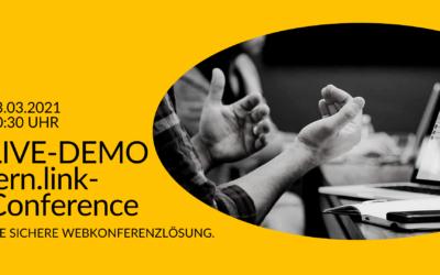 03.03.2021 LIVE-Demo: lern.link-Conference